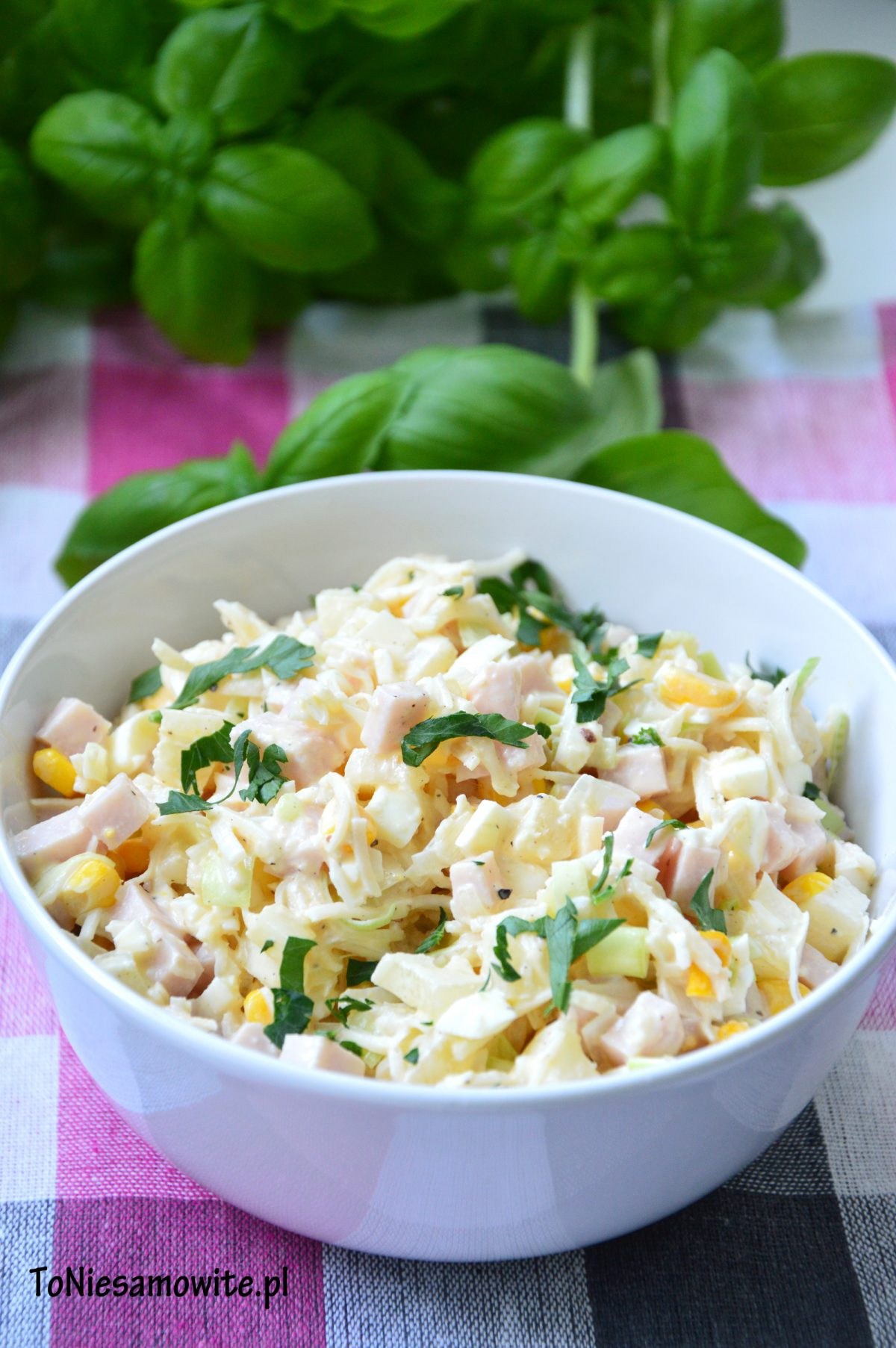 salatka z selerem konserwowym przepis